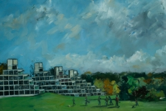 Artist-Brian-Korteling-Student-Digs-£550-24x20-Oil-on-Board-at-Paint-Out-Norwich-2015-photo-by-Mark-Ivan-Benfield-6100-1