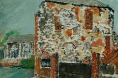 Artist John Behm - Local Colour, The Monastery, Elm Hill, £250 10x10 Oil on Canvas at Paint Out Norwich 2015