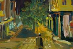 Artist-Susan-Mann-Nightlights-£320-7.5x9.5-Studio-Prepared-Oil-on-Board-at-Paint-Out-Norwich-2015-photo-by-Mark-Ivan-Benfield-6360-1