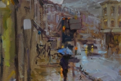 Rob Pointon, 'Pete the Street Rip Off No. 24', Westlegate, Oil, 40x30cm, <a href='http://www.paintout.org/artists/rob-pointon#buy' target='_blank'>FOR SALE</a>, £550