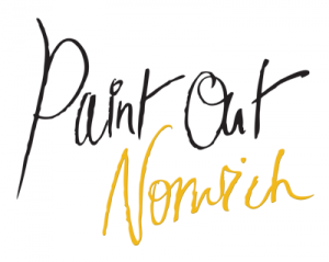 Paint Out Norwich logo 2014