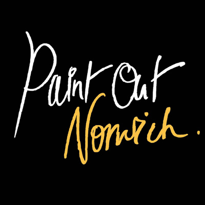 Paint Out Norwich logo