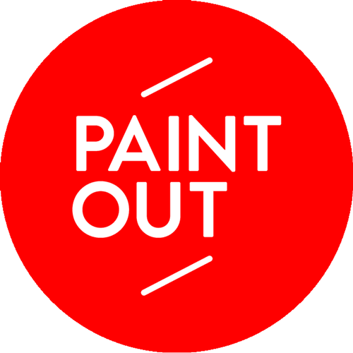 Paint Out 2015 logo red